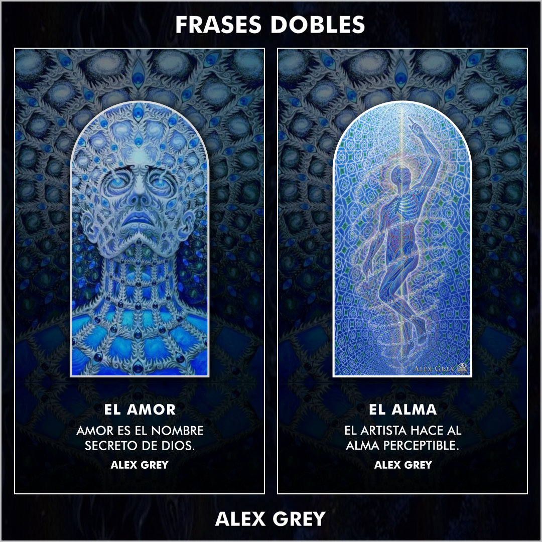 FRASES DOBLES ALEX GREY 00 - ALEX GREY