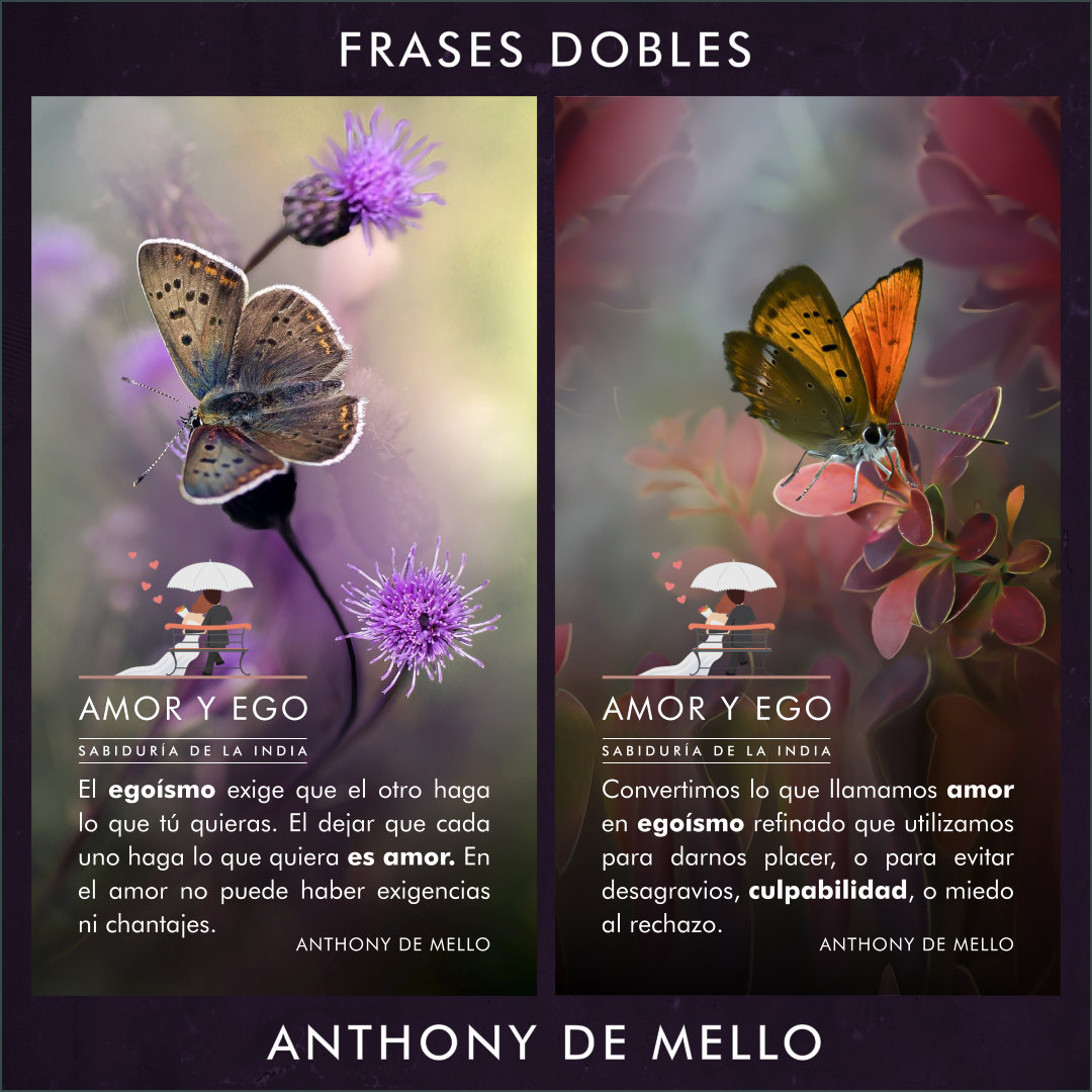 FRASES DOBLES ANTHONY DE MELLO 10 - ANTHONY DE MELLO