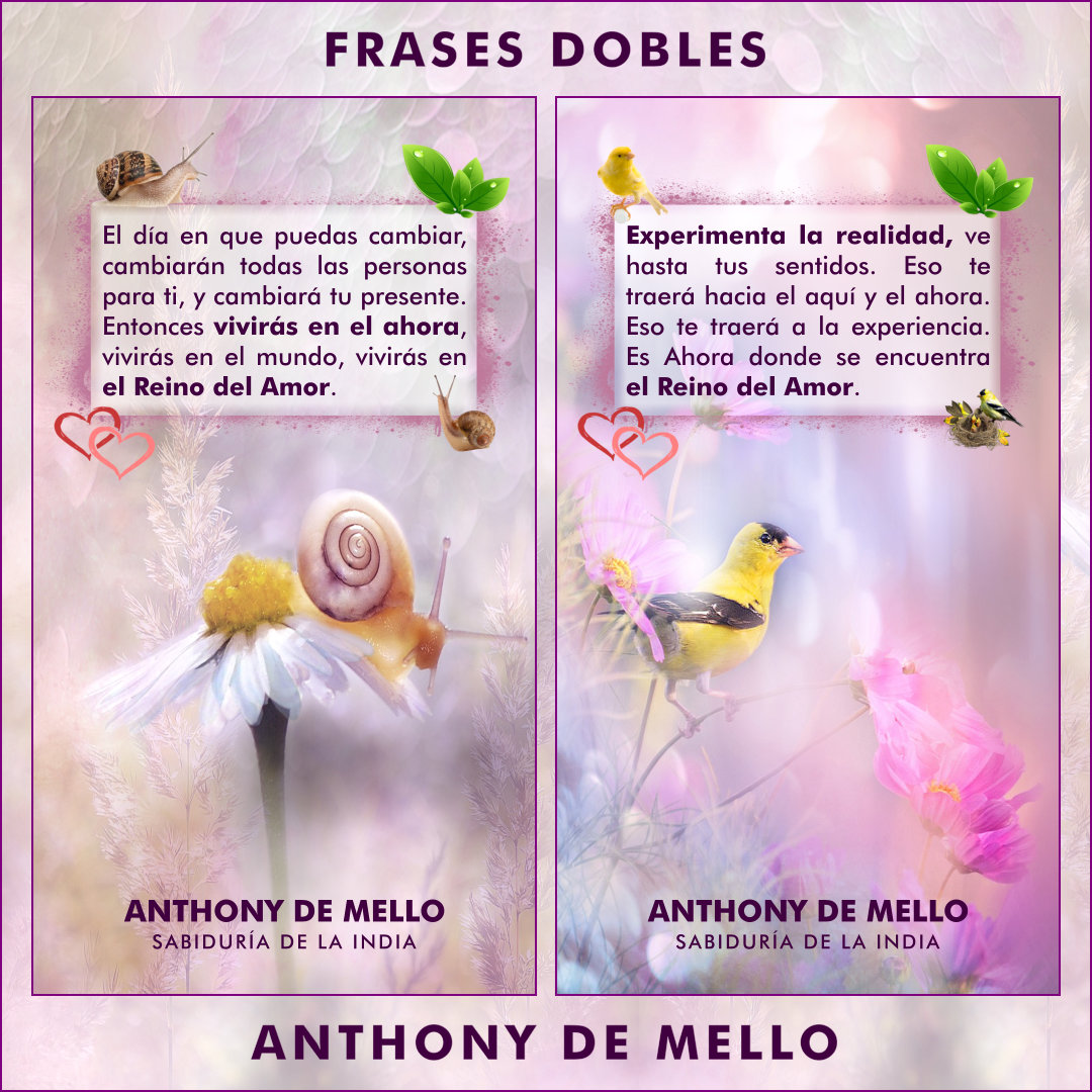 FRASES DOBLES ANTHONY DE MELLO 11 - ANTHONY DE MELLO