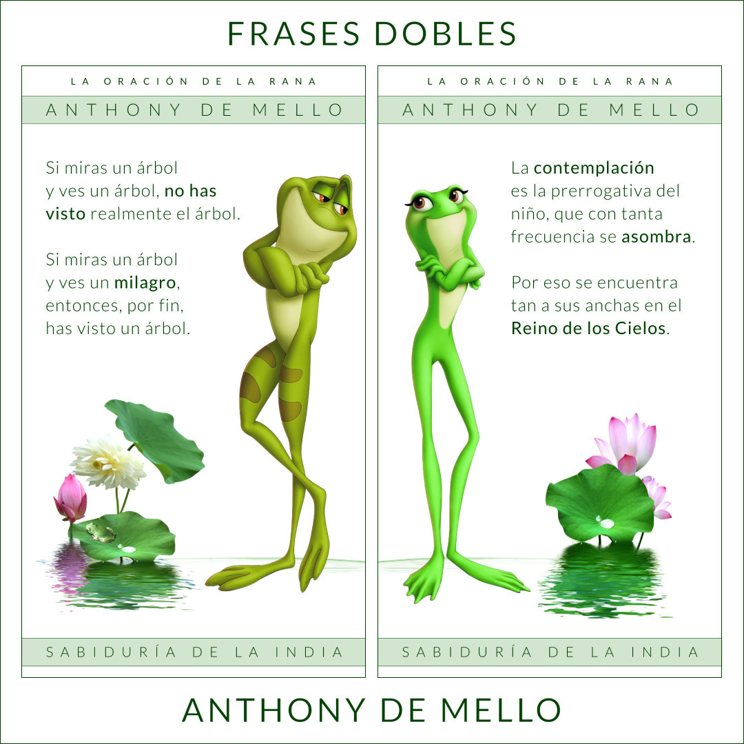 FRASES DOBLES ANTHONY DE MELLO 13 - ANTHONY DE MELLO