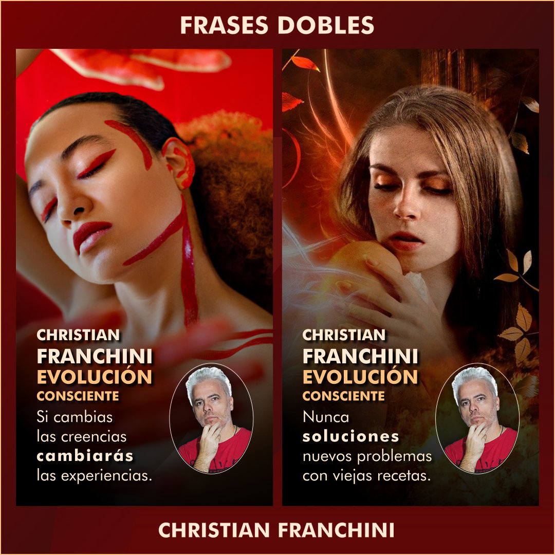 FRASES DOBLES CHRISTIAN FRANCHINI - CHRISTIAN FRANCHINI