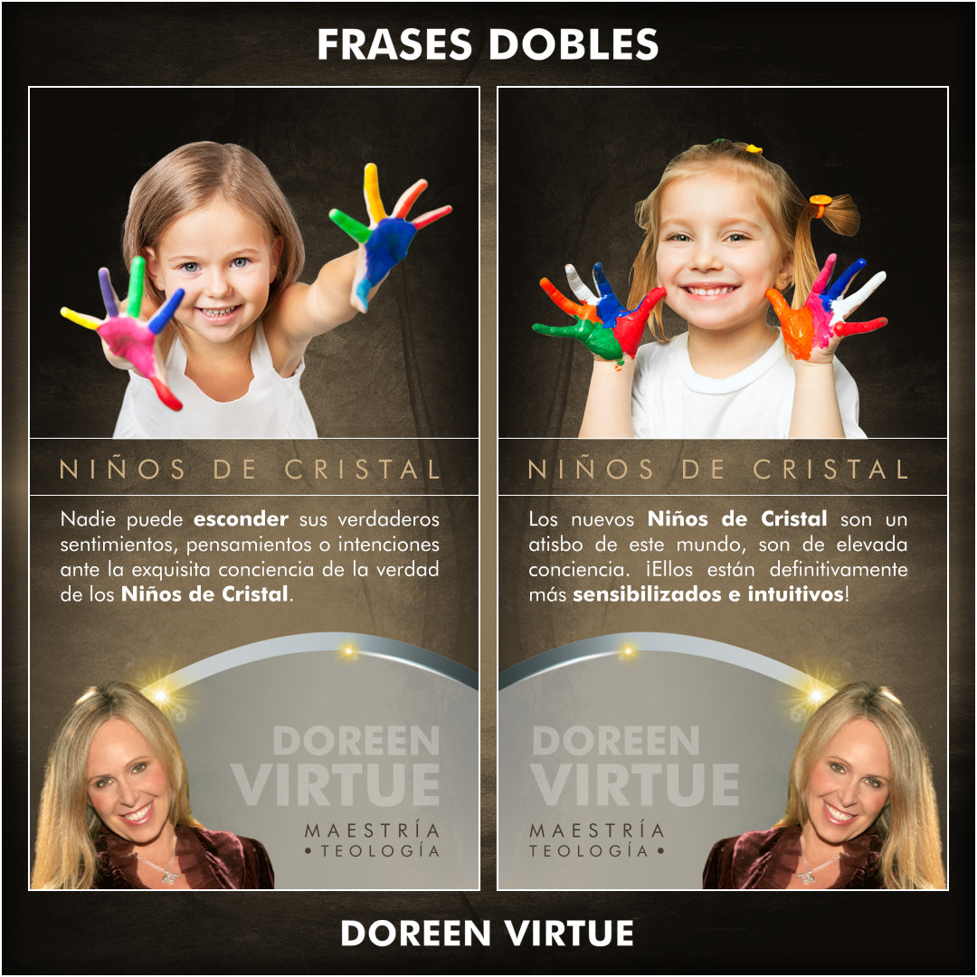 FRASES DOBLES DOREEN VIRTUE - DOREEN VIRTUE