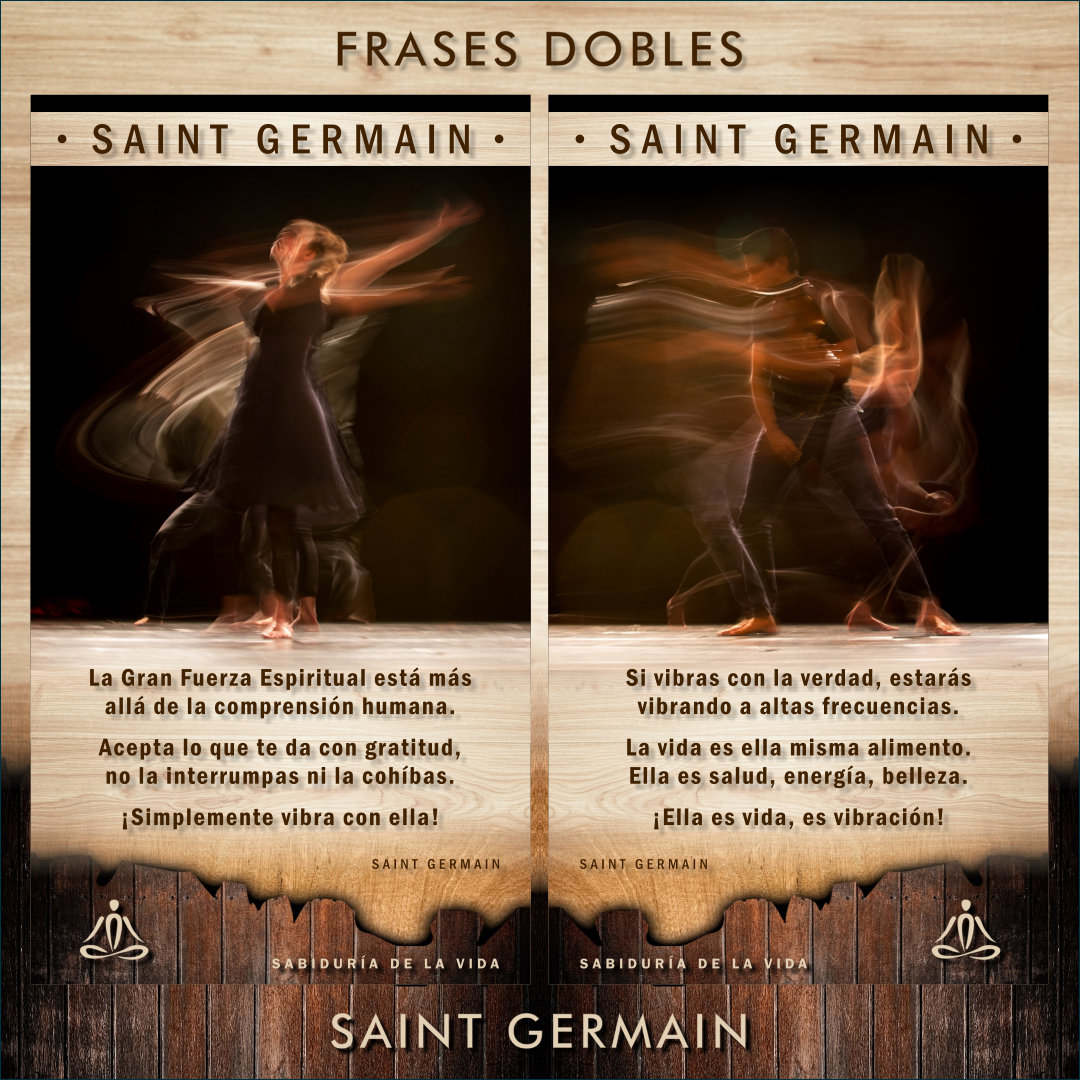 FRASES DOBLES SAINT GERMAIN - SAINT GERMAIN