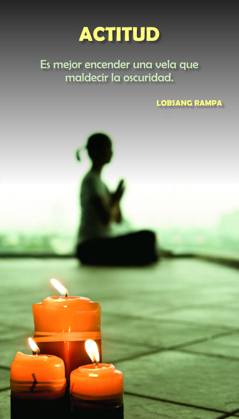 FRASES DOBLES ACTITUD - LOBSANG RAMPA