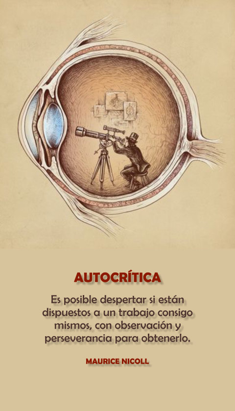 FRASES DOBLES AUTOCRITICA - MAURICE NICOLL