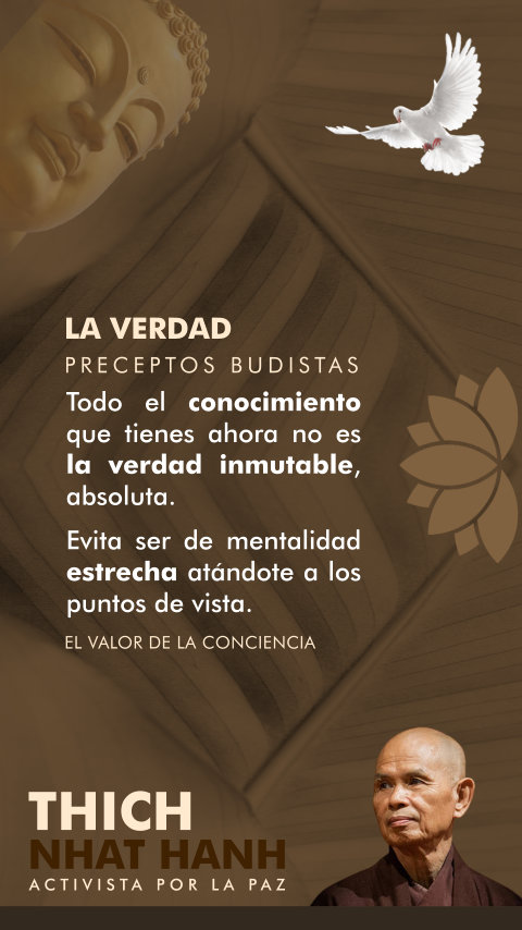 FRASES DOBLES LA VERDAD - THICH NHAT HANH
