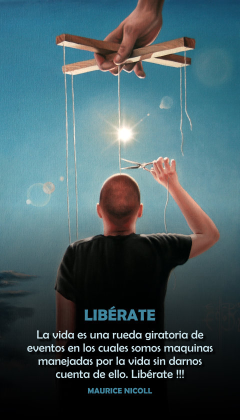 FRASES DOBLES LIBERATE - MAURICE NICOLL
