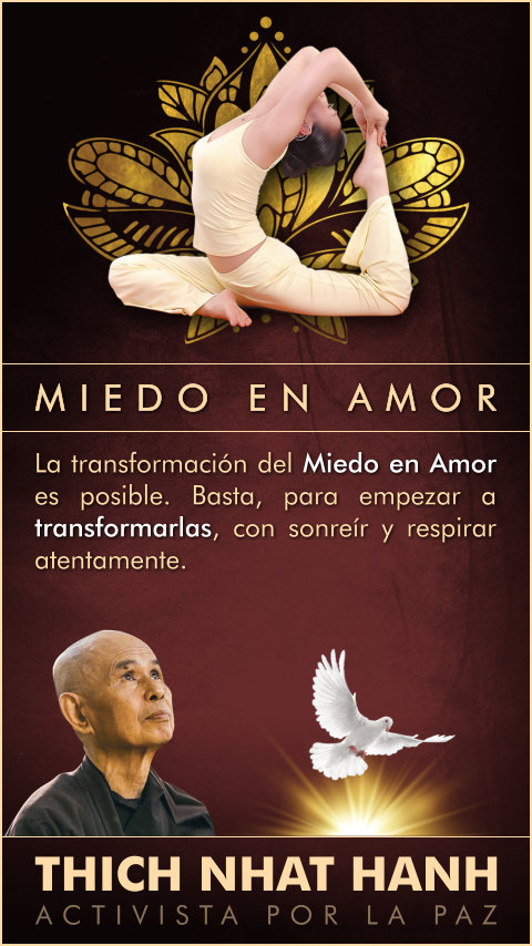 FRASES DOBLES MIEDO EN AMOR - THICH NHAT HANH