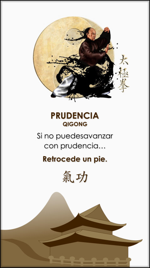 FRASES DOBLES PRUDENCIA - QIGONG