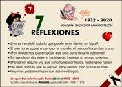 7 REFLEXIONES FAMOSAS DE QUINO