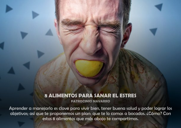 8 Alimentos para sanar el estrés - Escrito por Equipo Silva