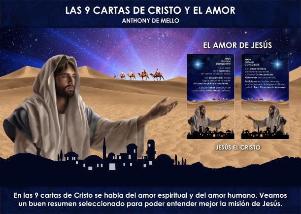 Las 9 cartas de cristo y el amor - Escrito por Jesus el Cristo