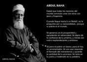 BIOGRAFÍA DE ABDUL BAHA