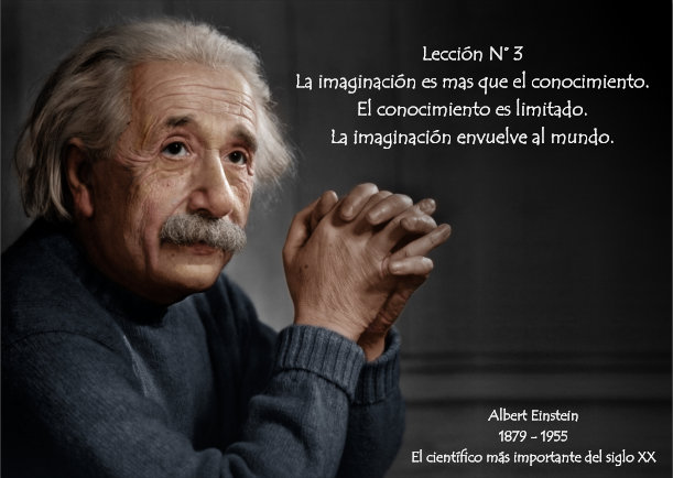 ALBERT EINSTEIN LECCION N° 03