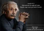 Grafica: Albert Einstein lección N° 09 (ALBERT EINSTEIN)