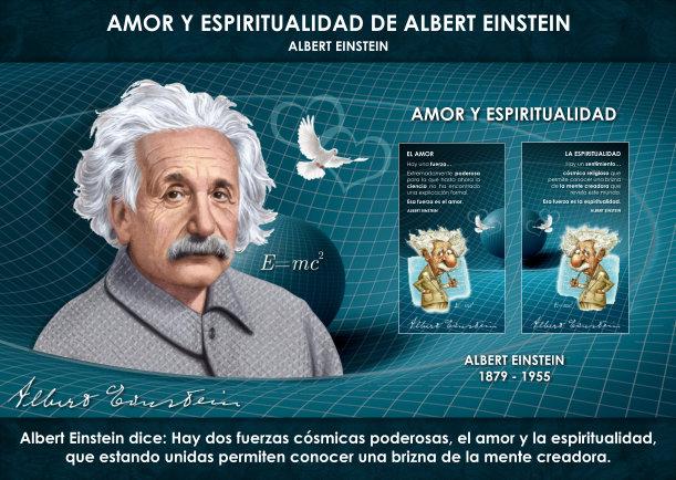 Amor y Espiritualidad de Albert Einstein - Escrito por Albert Einstein