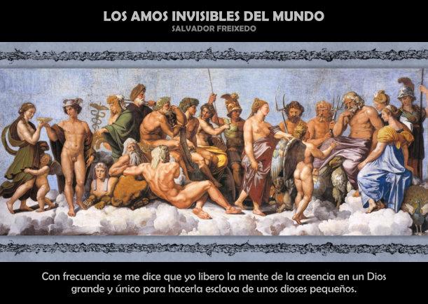 Los amos invisibles del mundo - Escrito por Salvador Freixedo