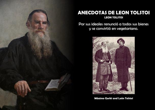Anécdotas De León Tolstoi