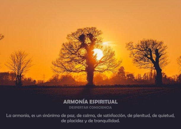ARMONÍA ESPIRITUAL