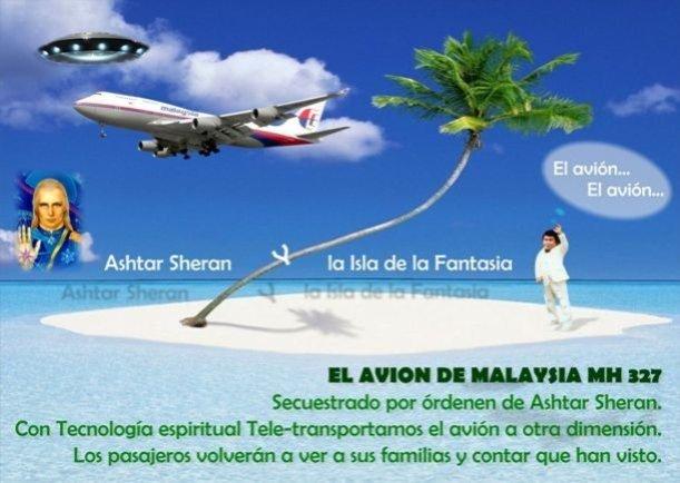El avión de Malaysia - Escrito por Humor Inteligente