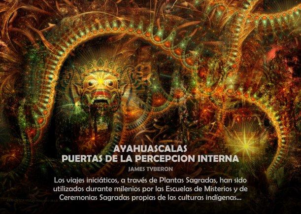 Ayahuascalas puertas de la percepción interna - Escrito por James Tyberon