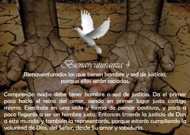 Bienaventuranza N° 4 - Escrito por Jesus el Cristo