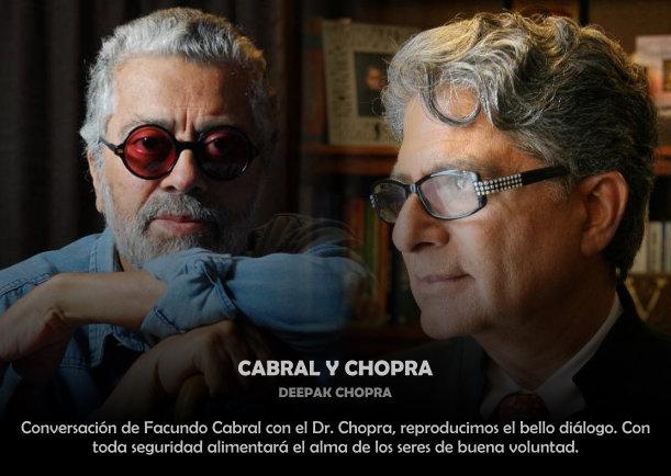 Cabral y Chopra - Escrito por Facundo Cabral