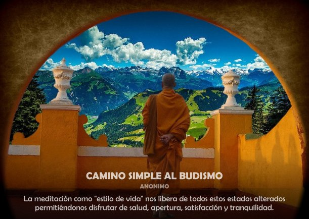 Camino simple al Budismo - Escrito por Buda