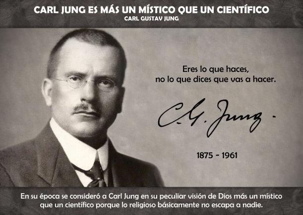 Carl Jung es más un místico que un científico - Escrito por Carl Gustav Jung