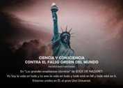 CIENCIA Y CONSCIENCIA CONTRA EL FALSO ORDEN DEL MUNDO