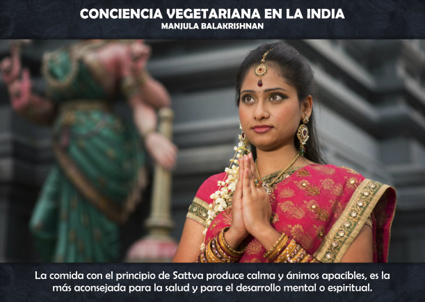 CONCIENCIA VEGETARIANA EN LA INDIA