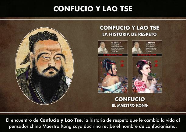 Confucio y Lao Tse, la historia de respeto - Escrito por Confucio