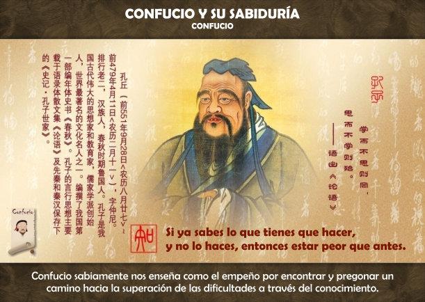 Confucio y su sabiduría - Escrito por Confucio