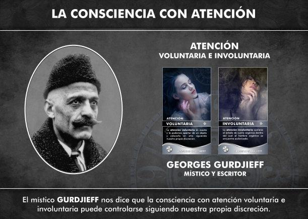 Consciencia con atención voluntaria e involuntaria - Escrito por Georges Gurdjieff