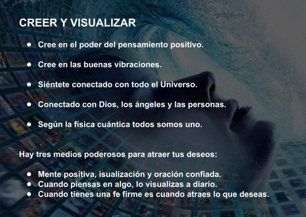 CREER Y VISUALIZAR