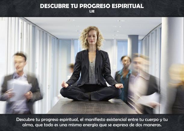 Descubre tu progreso espiritual - Escrito por LIE
