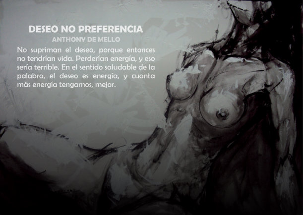 Deseo no preferencia - Escrito por Anthony de Mello