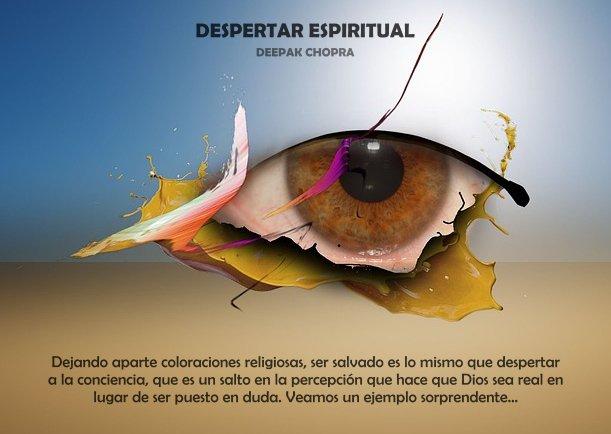 Despertar espiritual - Escrito por Deepak Chopra