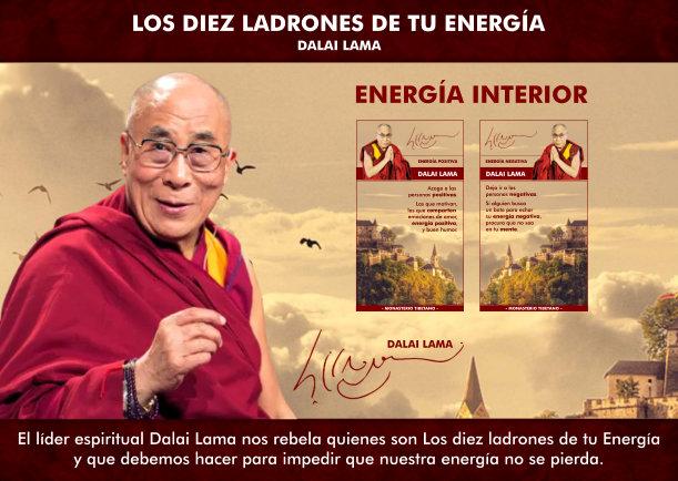 Los Diez ladrones de tu Energía - Escrito por Dalai Lama