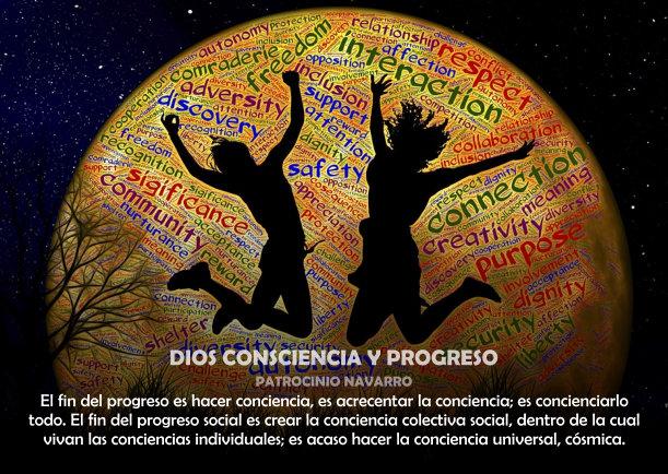 Dios consciencia y progreso - Escrito por Patrocinio Navarro