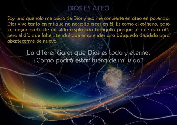 Dios es ateo - Escrito por Jebuna