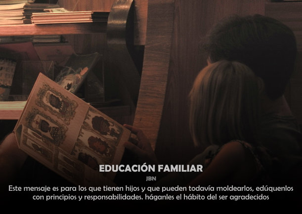Educación familiar - Articulos por JBN