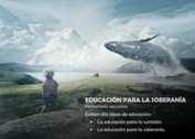 EDUCACIÓN PARA LA SOBERANÍA