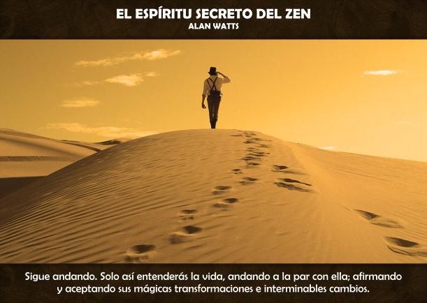 El espíritu secreto del Zen - Escrito por Alan Watts