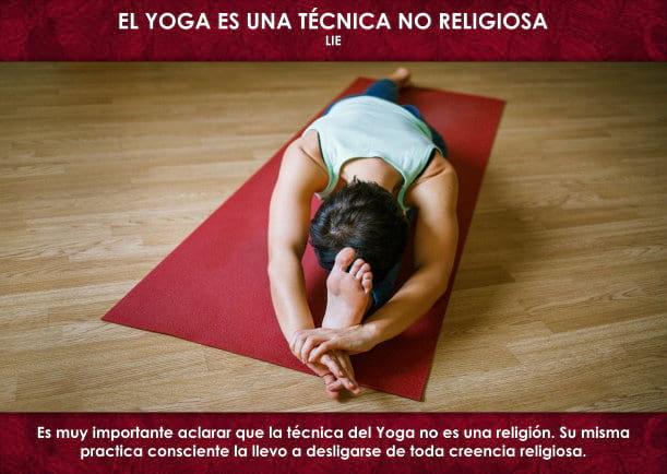 El yoga es una técnica no religiosa - Escrito por LIE