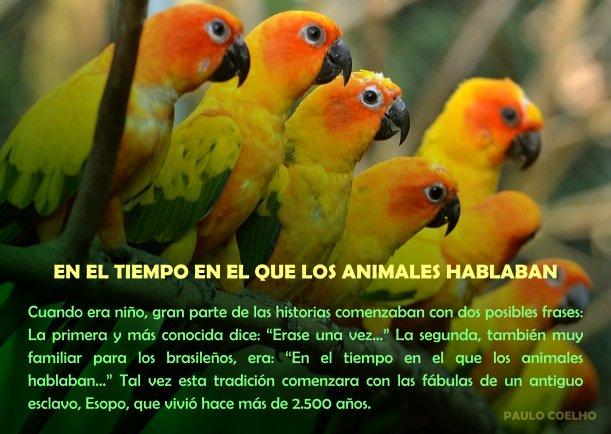 En el tiempo en el que los animales hablaban - Escrito por Paulo Coelho