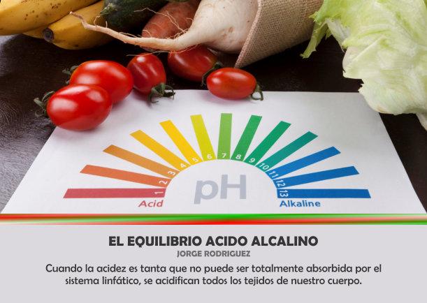 El equilibrio acido alcalino - Escrito por Jorge Rodriguez