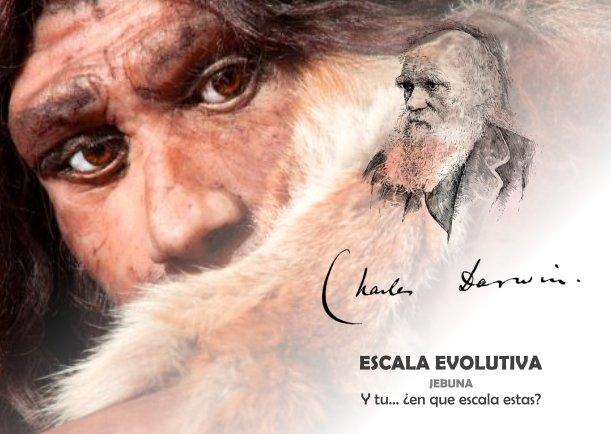Escala evolutiva - Escrito por Jebuna
