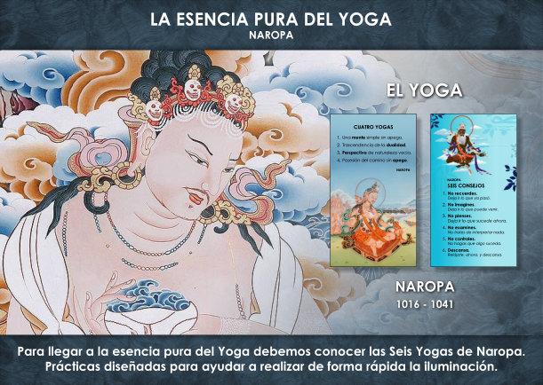 La esencia pura del Yoga - Escrito por Naropa