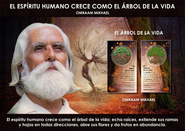 El espíritu humano crece como el árbol de la vida - Escrito por Omraam Mikhael